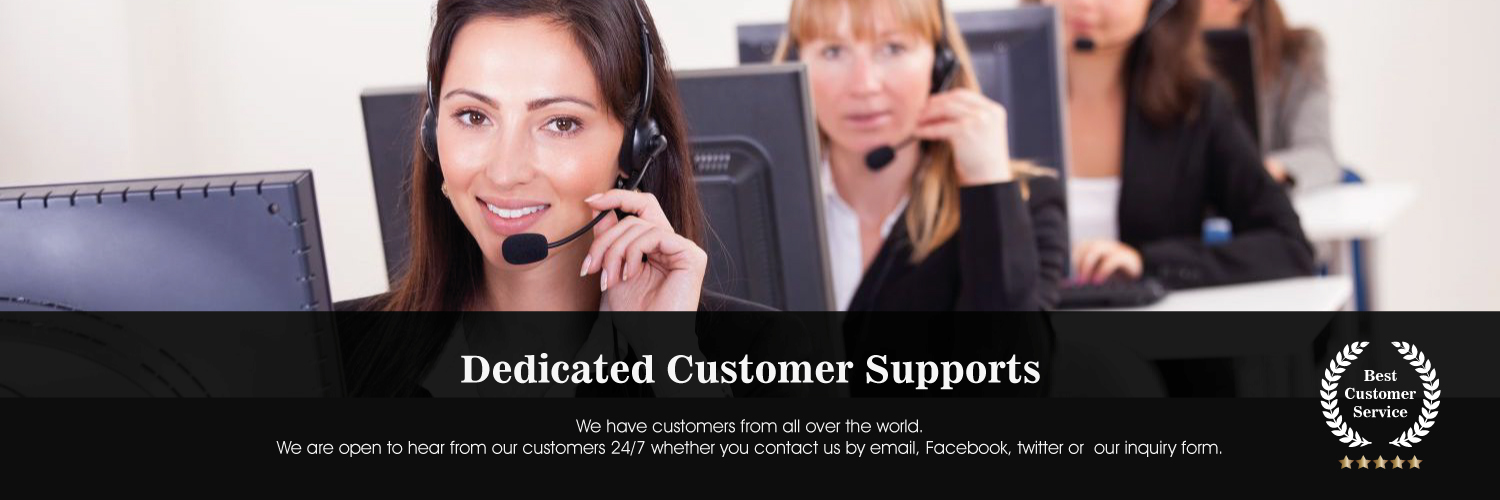 Dedicated Customer Supports