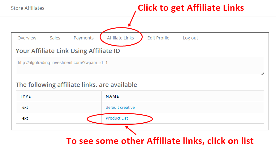 Affiliate Membership 2