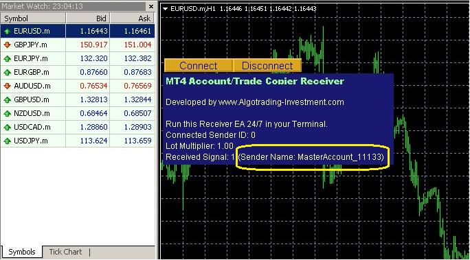 Remote Trade Copier 11.1