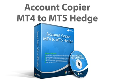 Account Copier MT4 to MT5 Hedge 400