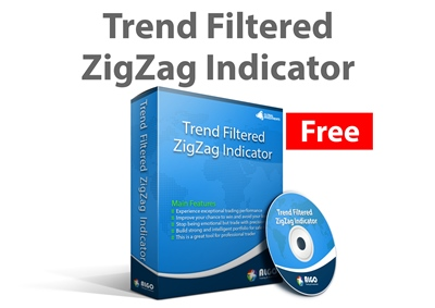 Trend Filtered ZigZag Indicator 400