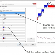 How to Change Renko Brick Size in Smart Renko